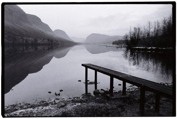 Le lac de Bohinj dans l'ouest du pays