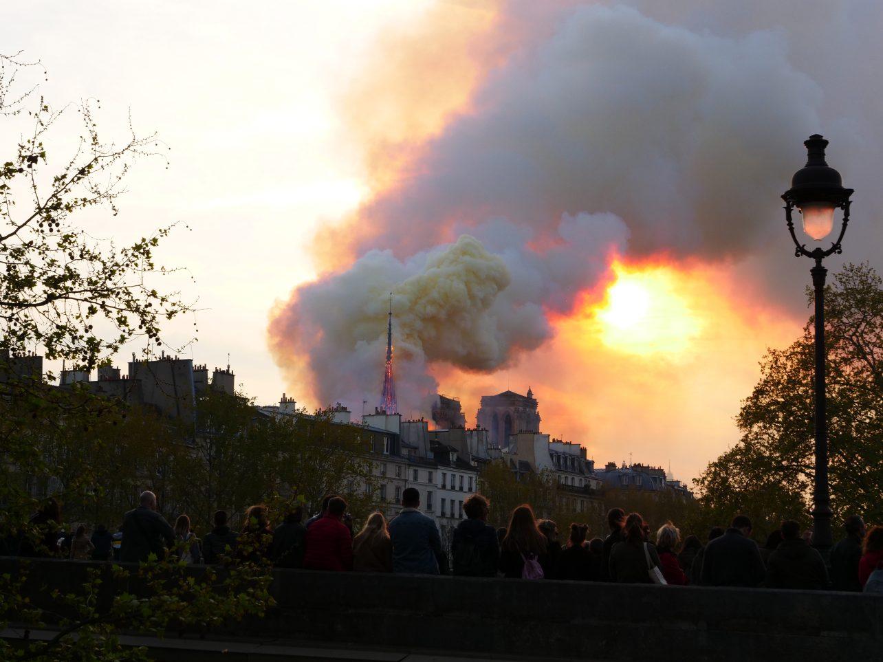 La flèche Notre Dame de Paris