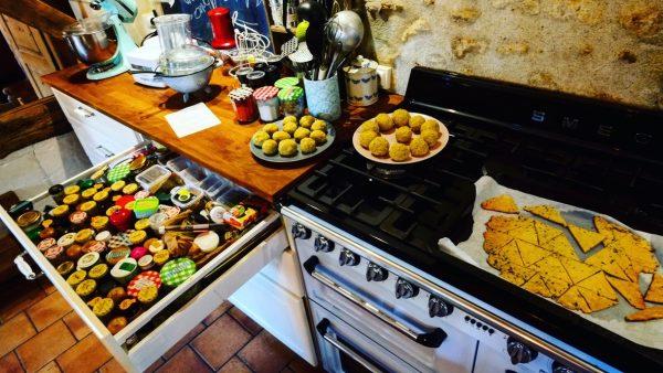 Ici on peut tout faire avec une cuisine classique, comme à la maison