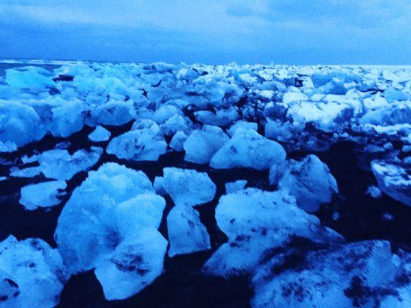 La splendide plage de diamants dans le sud du pays