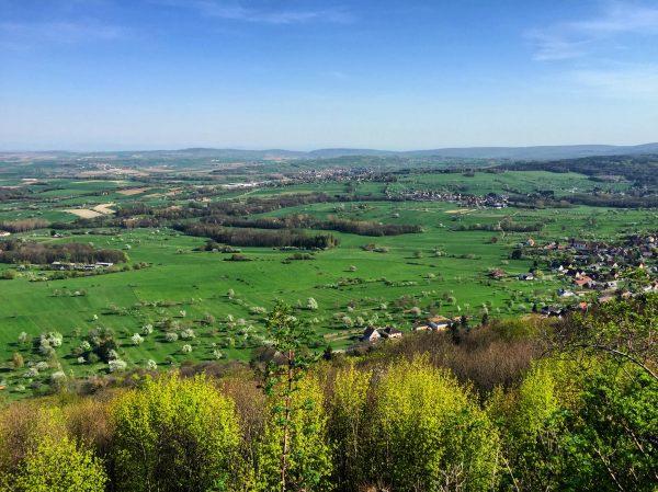 Dans le Bas-Rhin sous le soleil