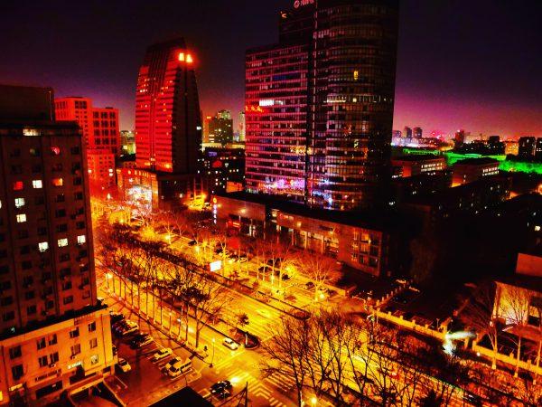 Changchun la nuit