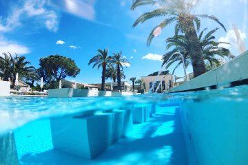L'incroyable piscine de l'hôtel Sezz à Saint-Tropez