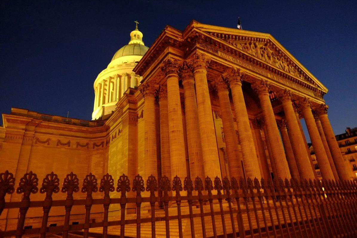 Le Panthéon, un splendide bâtiment dans les hauteurs de Paris