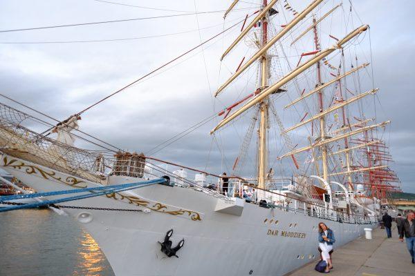 L'armada de Rouen et la Dar Mlodziezy