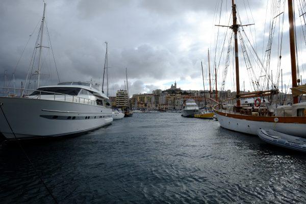 Sur les quais du vieux port