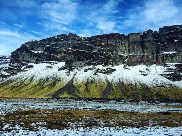 Un joli défilé rocheux dans le sud de l'Islande