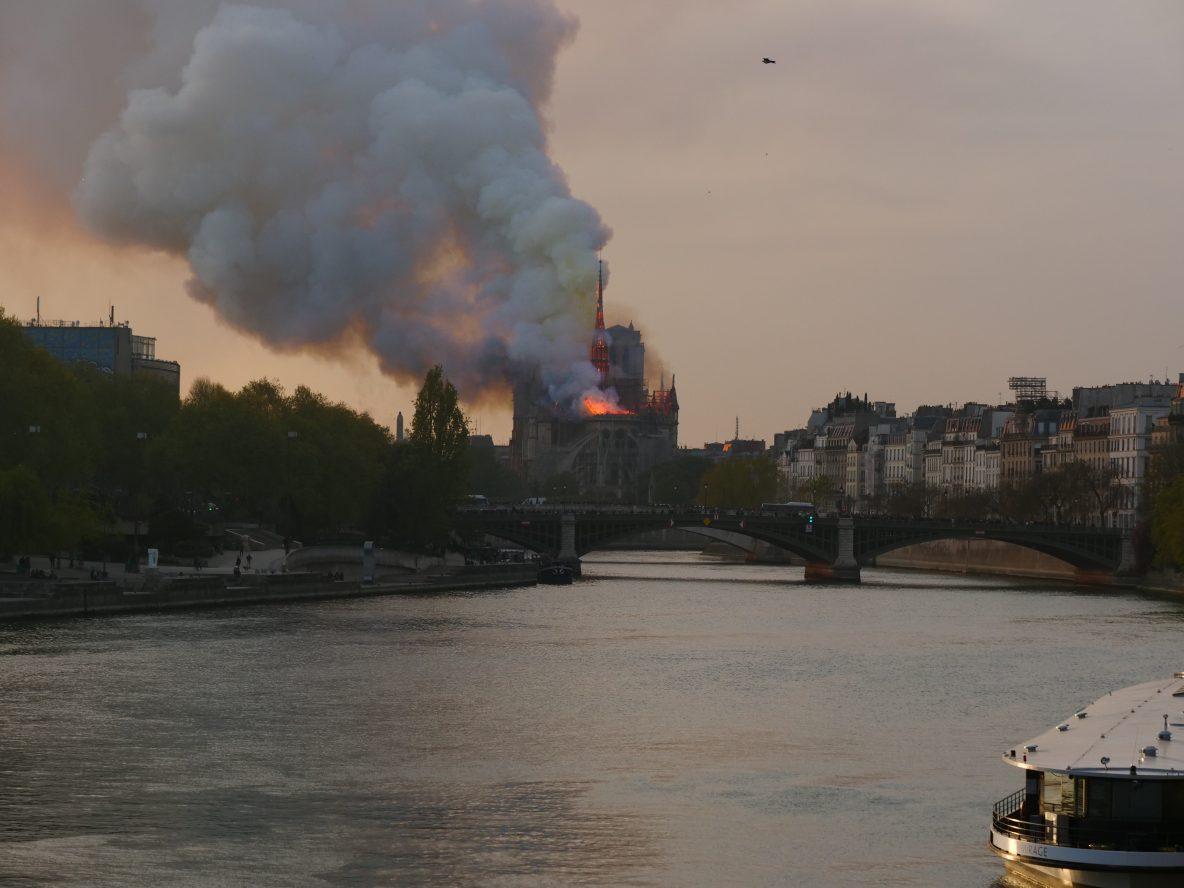 La pollution au plomb à Paris et tout autour de la cathédrale
