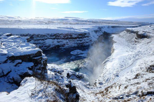 Gullfoss, l'une des plus belles cascades d'Islande