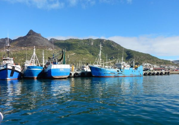 Dans un port d'Afrique du Sud