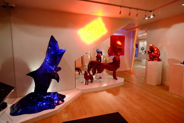 Art contemporain et Station balnéaire