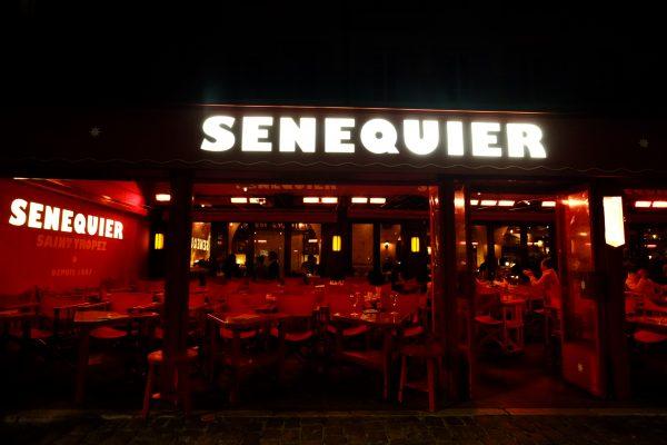 Senequier et Saint-Tropez la nuit