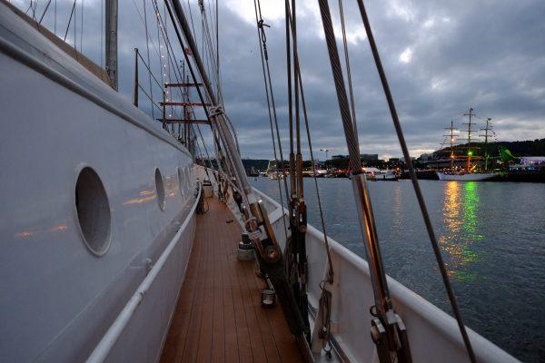 Une ambiance certaine à bord de l'Eendracht