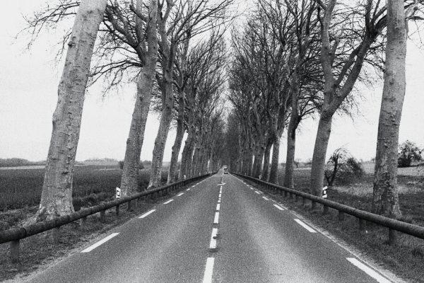Route de l'Eure entre Rouen et Paris