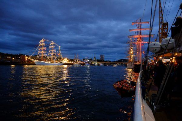Une vue enivrante et inspirante lors de l'armada 2019