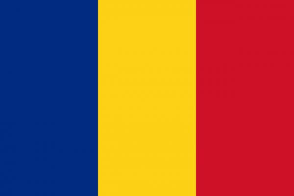 le drapeau de la Roumanie