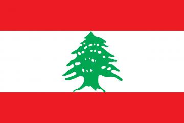 le drapeau du Liban
