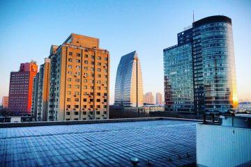 Changchun au crépuscule