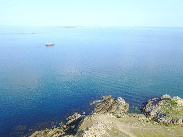 L'Océan Atlantique un jour très calme