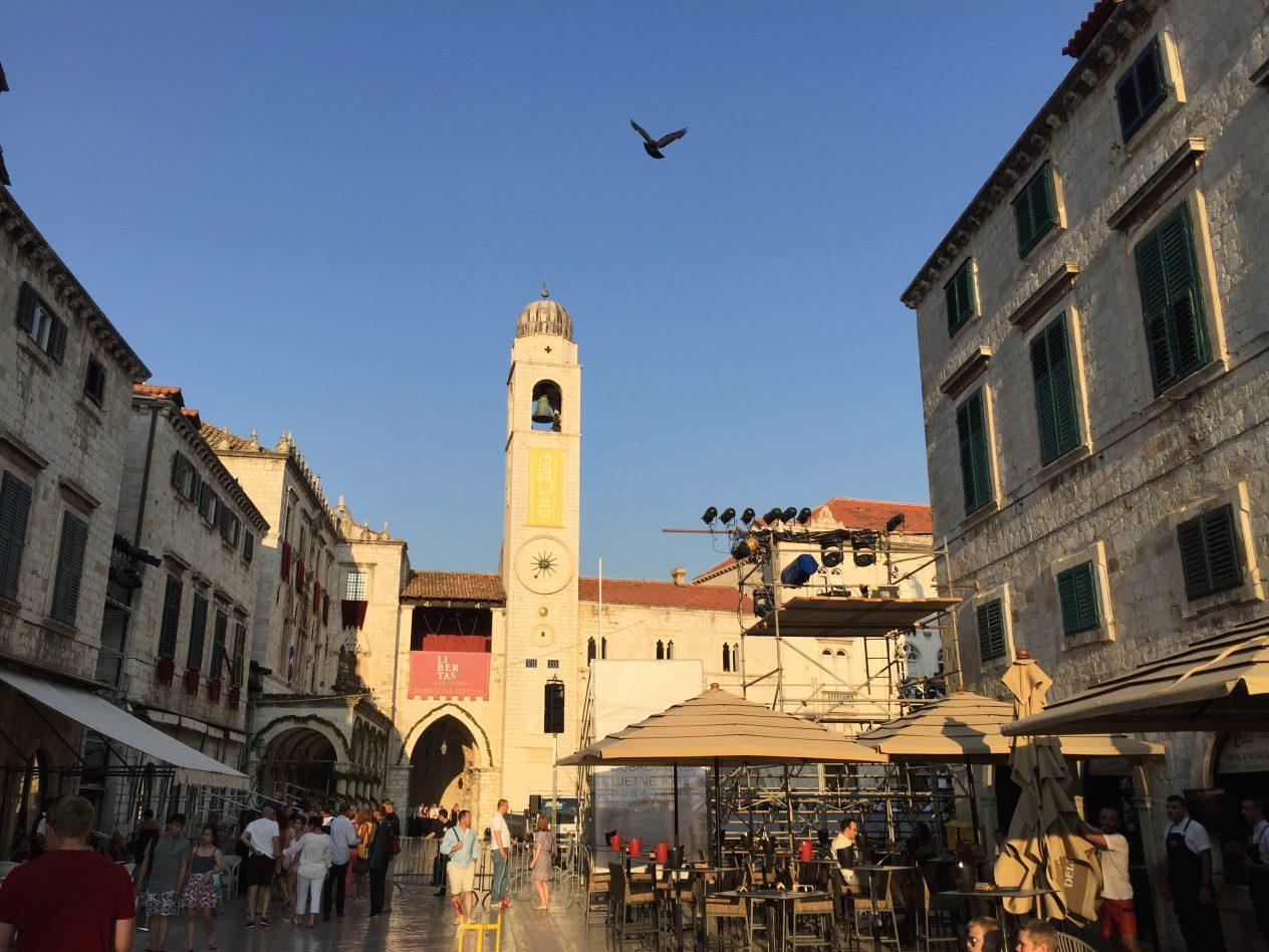 Dubrovnik ville historique en Croatie