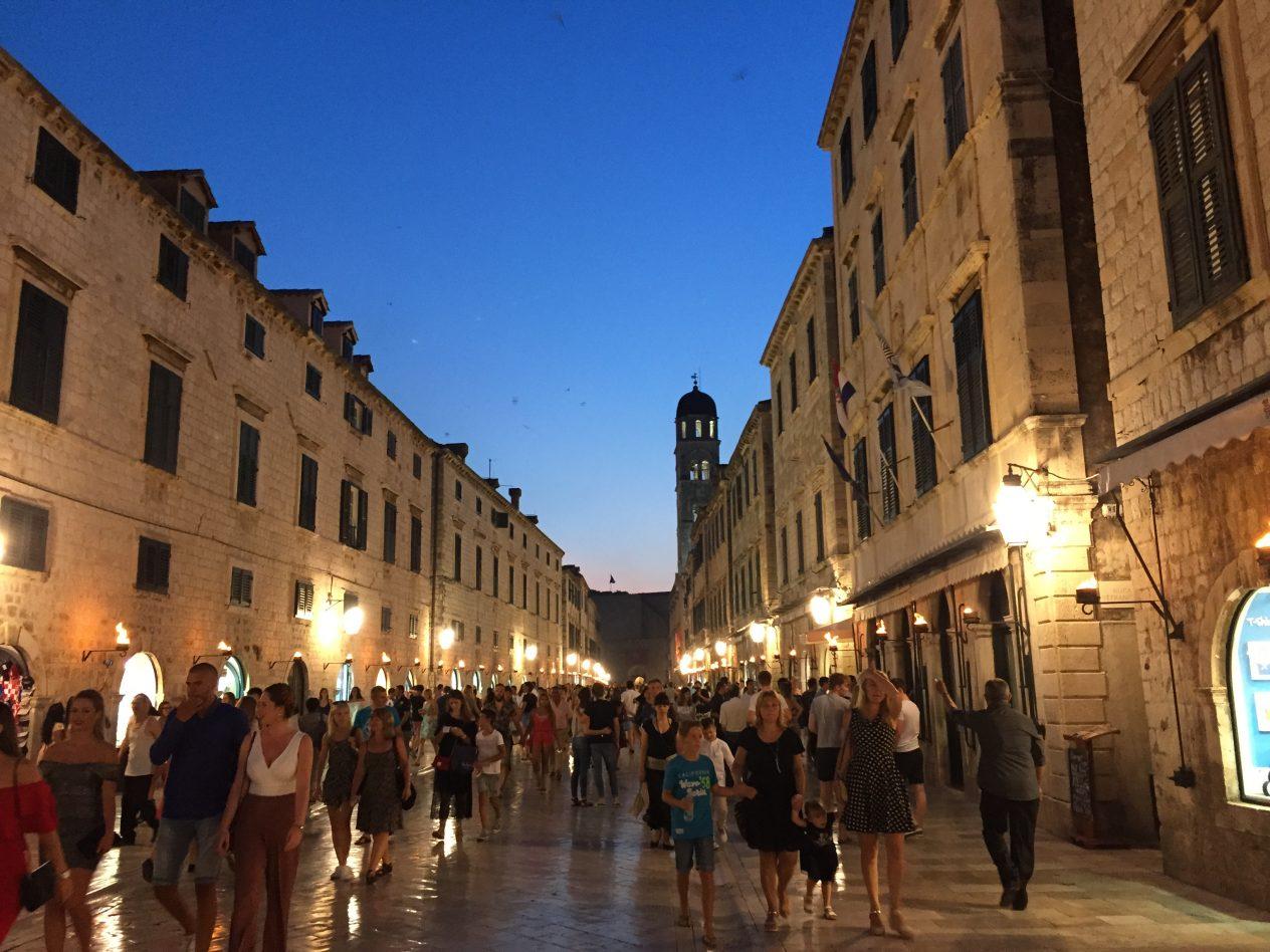 L'une des plus grandes villes de Croatie