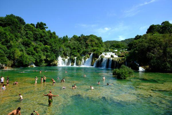 Krka, l'un des plus beaux endroits de Croatie