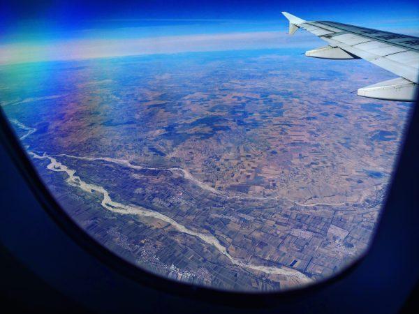 Prendre des photos depuis l'avion