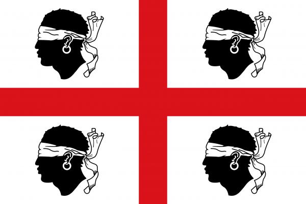 Le drapeau sarde