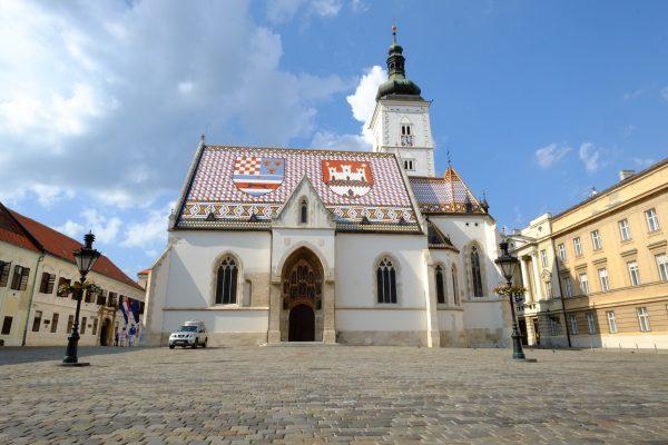 La capitale de la Croatie