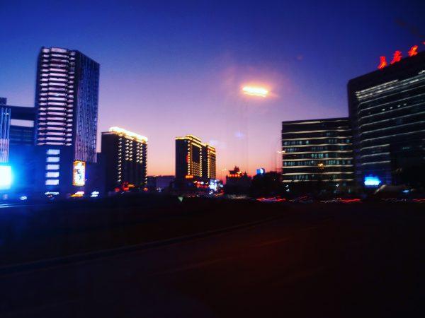 clair obscure lors d'un voyage en Chine