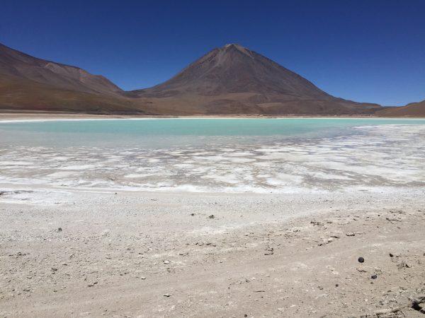 Un stratovolcan entre le Chili et la Bolivie