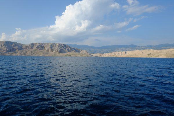 L'Adriatique du côté de la Croatie