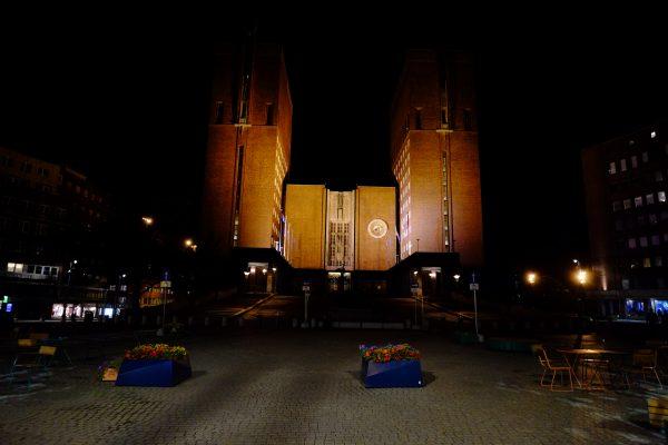 Escale de nuit à Oslo