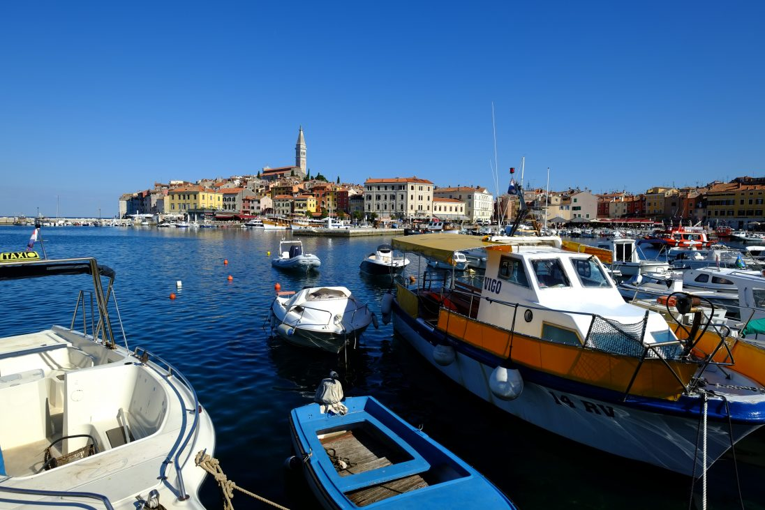 Rovinj l'une des plus belles villes de Croatie