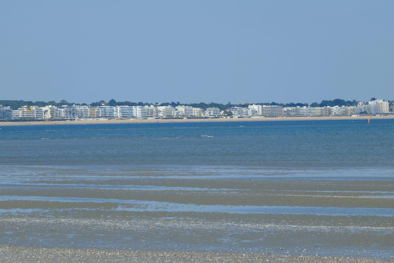 La Baie de la Baule et la ville de Pornichet