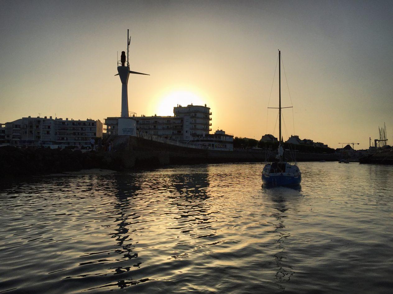 Naviguer et rentrer à marée haute