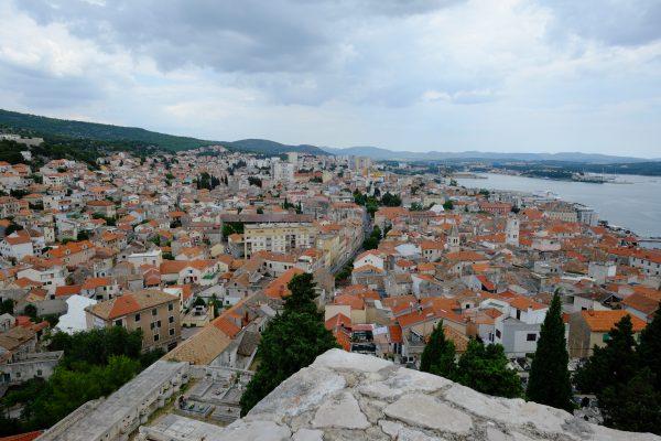 Sibenik une ville en Dalmatie