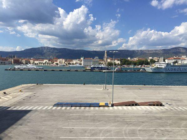 Split l'une des plus grandes villes croates