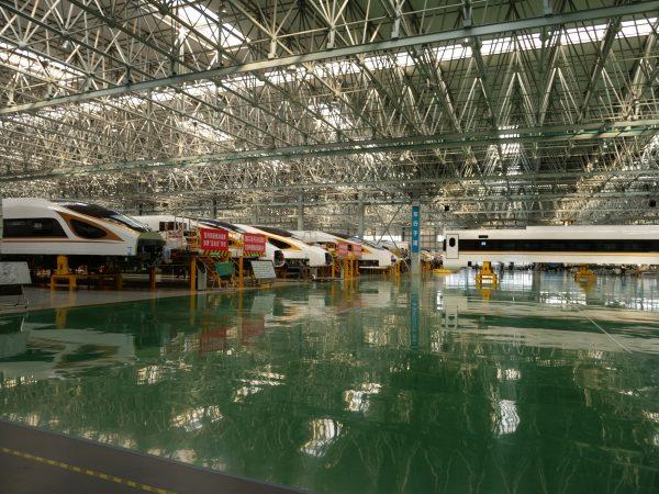 L'impressionnante usine de haute technologie de Changchun