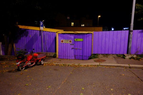 Balade à Oslo la nuit
