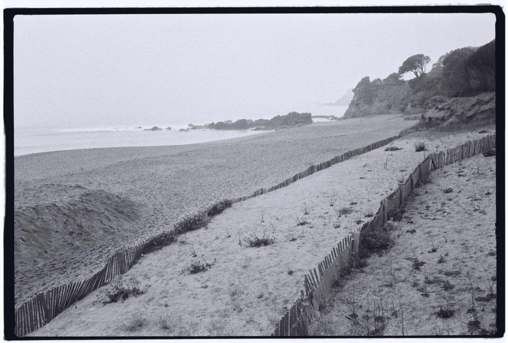 La côte en hiver du côté de Saint-Marc