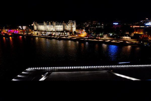La vue depuis l'Opéra nouveau
