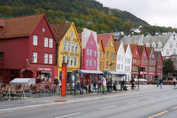 Bergen, la plus belle ville de Norvège
