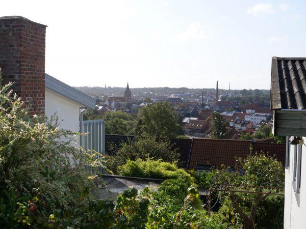 Vue panoramique sur Kolding