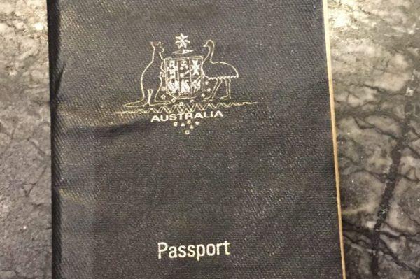 Le passeport australien
