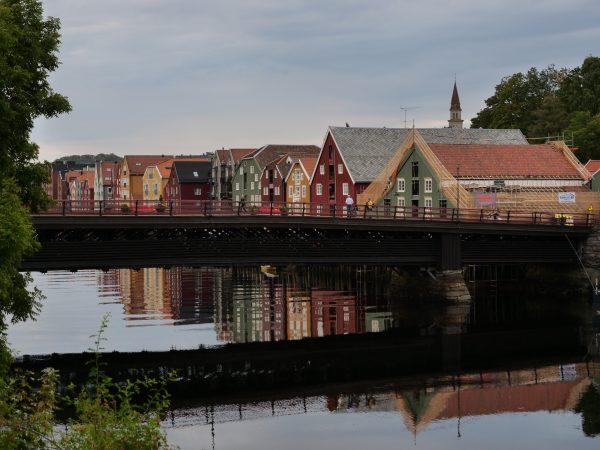 Trondheim une jolie ville dans le centre du pays