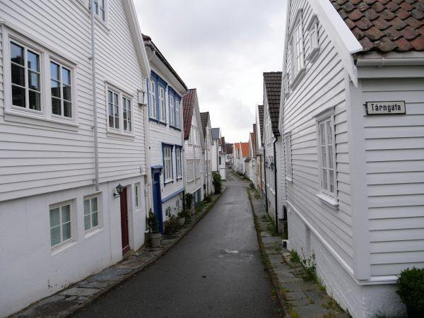 Le charme fou des bardages en bois des maisons de Stavanger