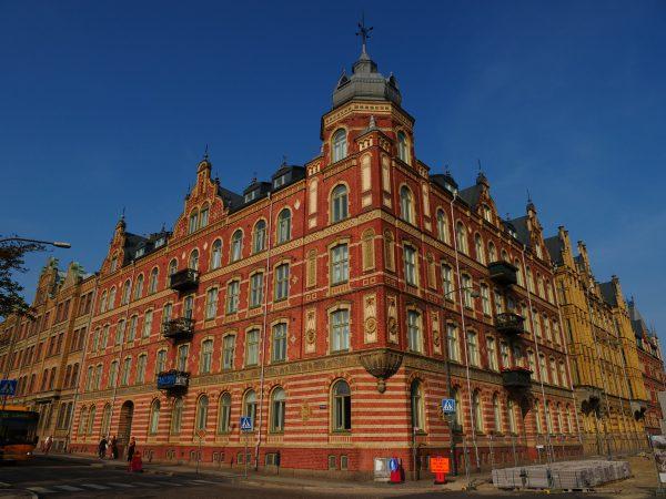 Une jolie ville du sud de la Suède