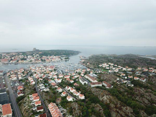 Marstand, l'une des plus belles villes de Suède