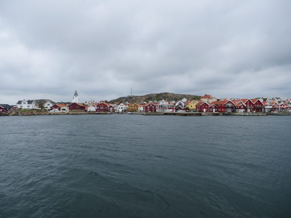 Une vue sur une ville de Skarhamn